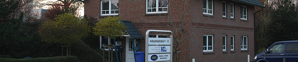 Bürogebäude der Firma RCL Elektrotechnik aus Wittenborn