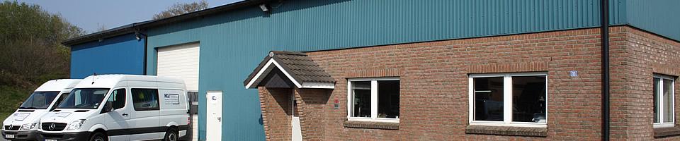 Produktionshalle der Firma RCL Elektrotechnik aus Wittenborn